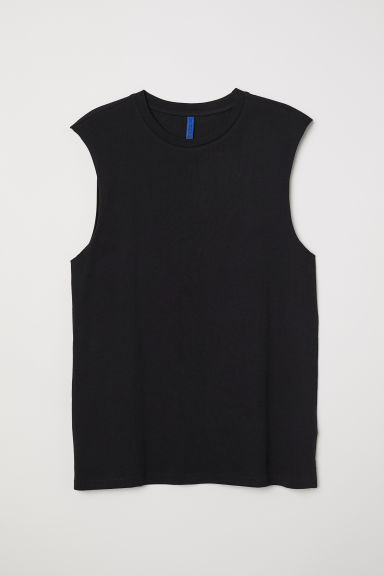 Tanktop - Zwart - HEREN | H&M BE