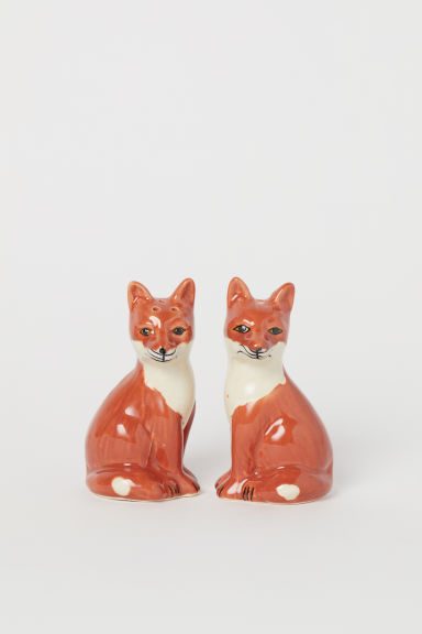 Salt and Pepper Set - Rust red/fox - Home All | H&M US