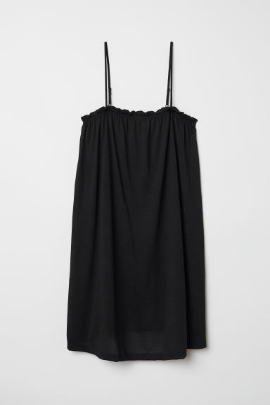 Sleeveless jersey dress - Black - Ladies | H&M