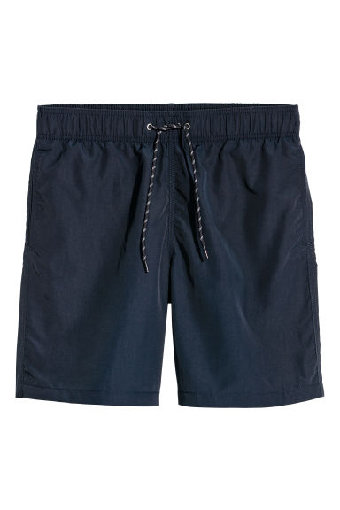 Knee-length swim shorts - Dark blue - Men | H&M