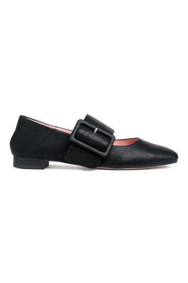 Flats - Black - Ladies | H&M CN