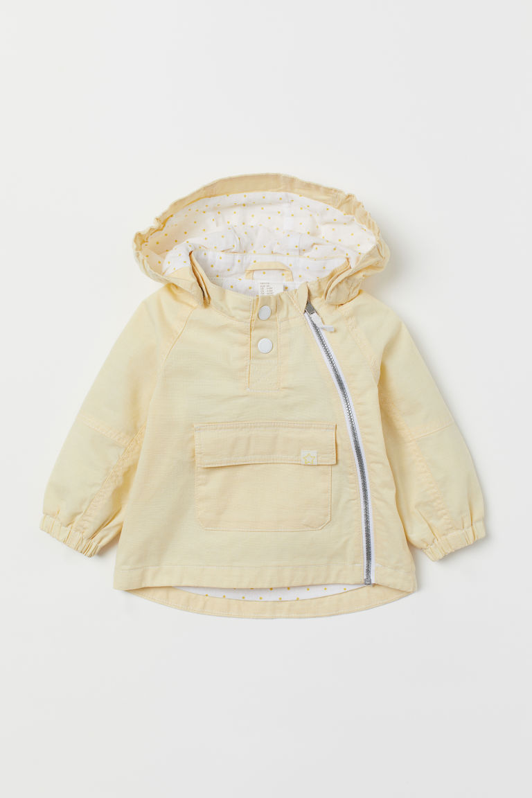 Cotton Anorak - Light yellow - Kids | H&M US