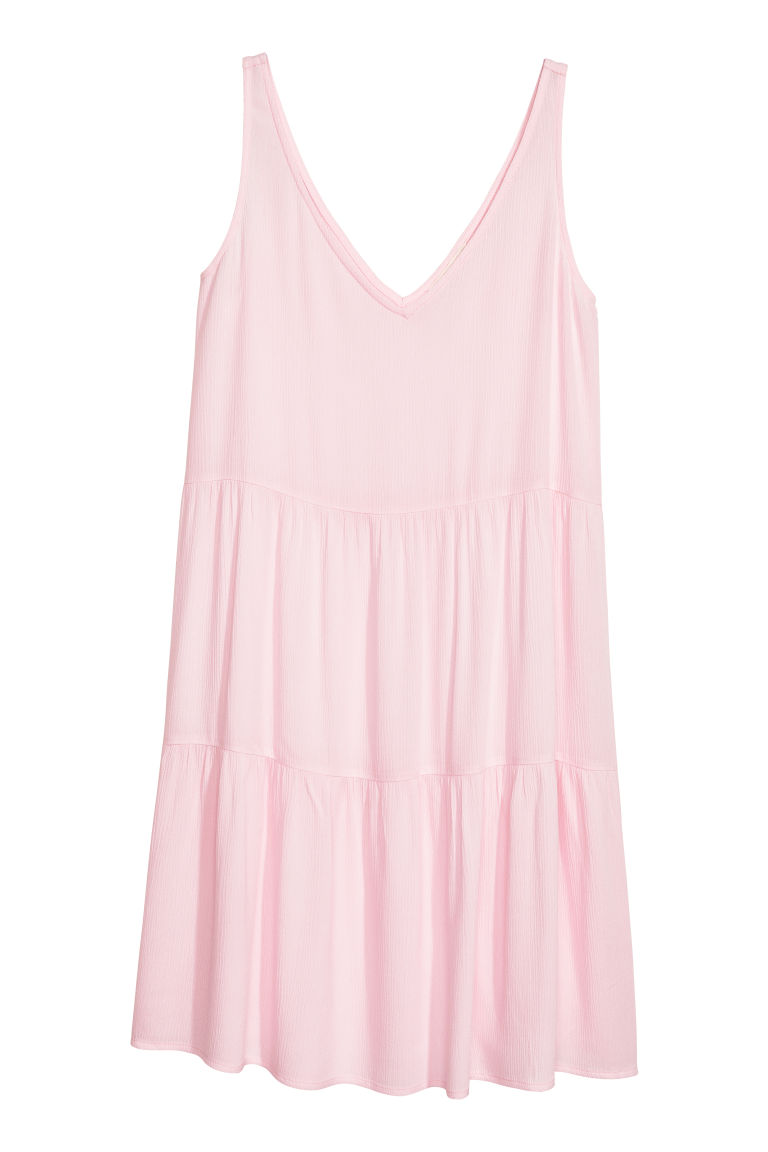 Crêpe dress - Light pink - Ladies | H&M GB