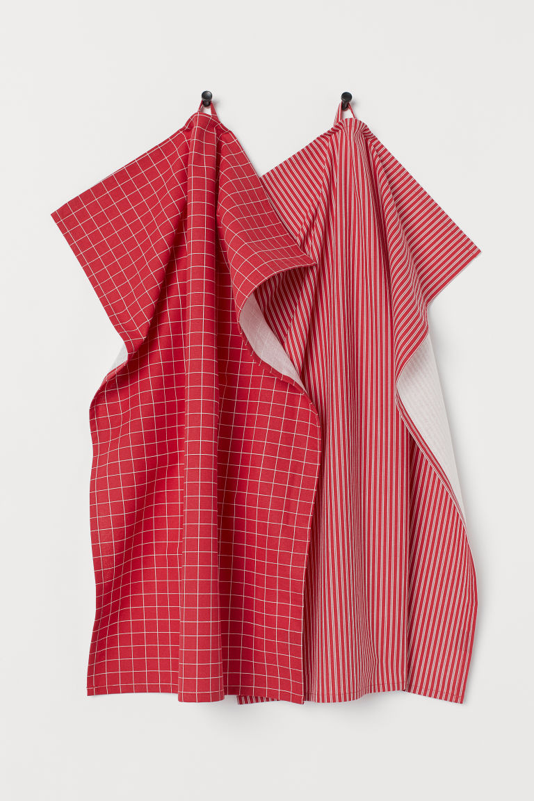 2-pack tea towels