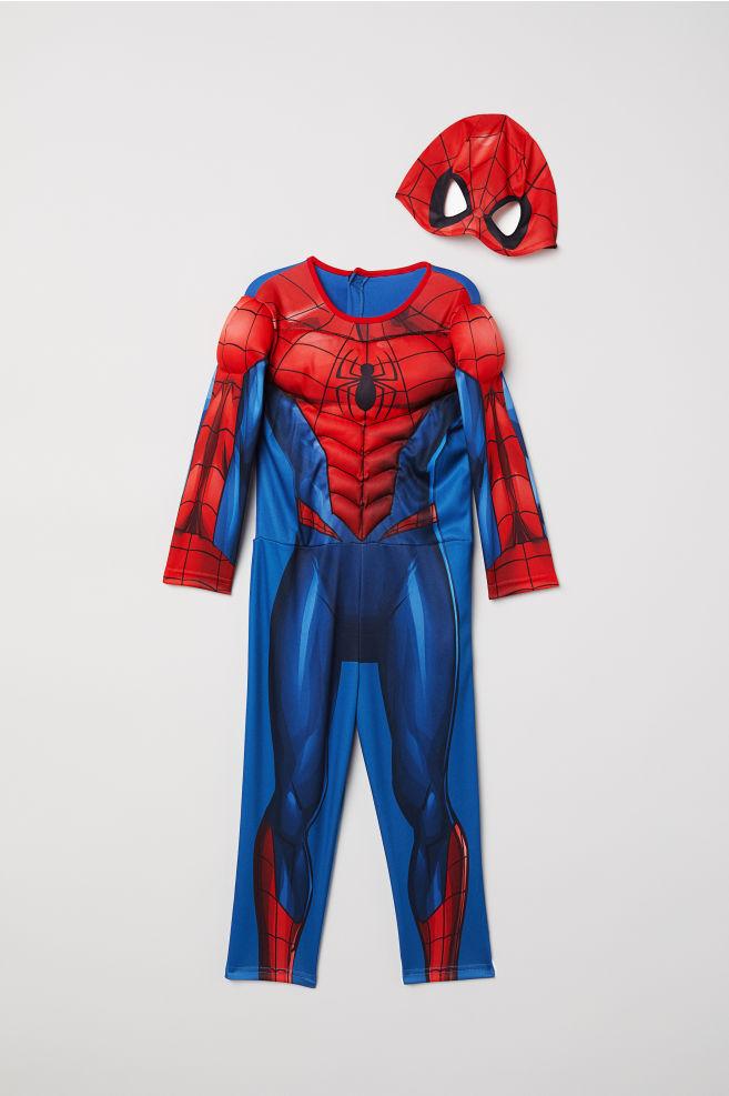 235b0363942a3 Costume de super-héros - Rouge Spiderman - ENFANT
