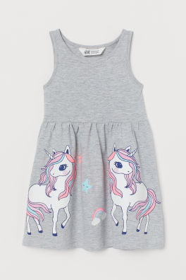 c84fd46b5 Girls Dresses and Skirts - A wide selection | H&M US