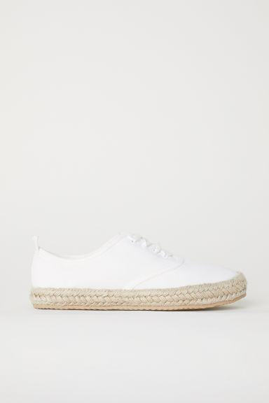 Espadrilles - White - Ladies | H&M CN