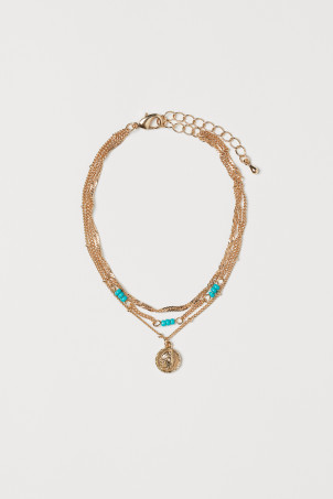 Three-strand anklet