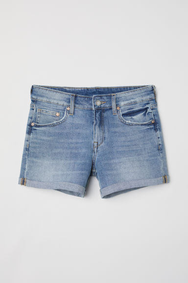 Denim shorts - Denim blue -  | H&M GB