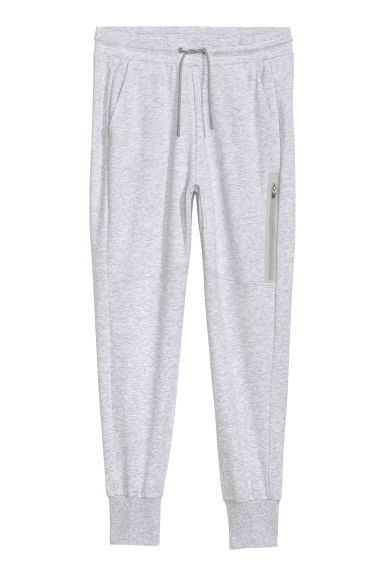 Sports trousers - Light grey marl - Ladies | H&M CN