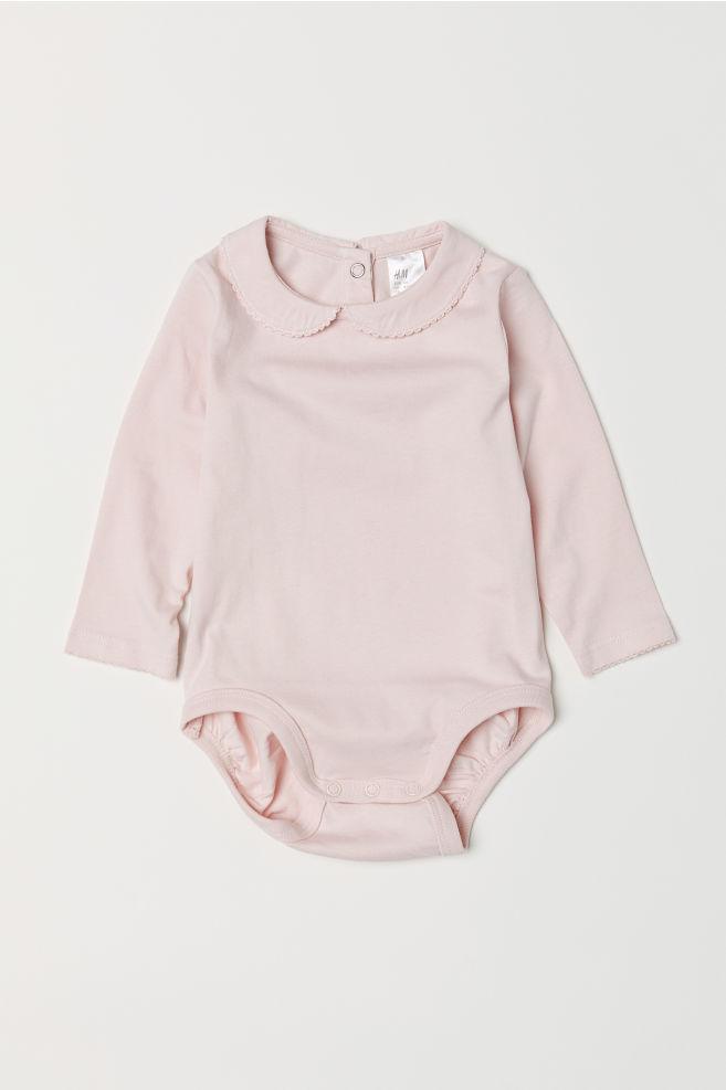 Bodysuit with a collar - Light pink - Kids  ff487f9cf