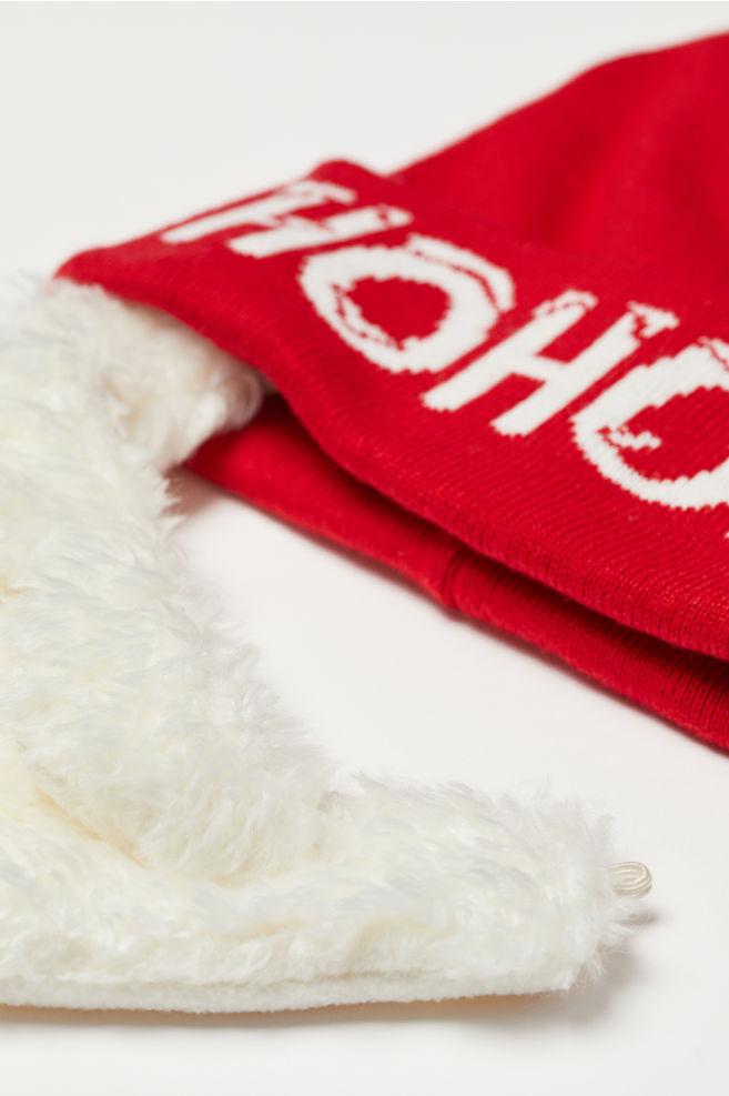 8a7daf5c8 Čiapka s bradou - červená/Mikuláš - MUŽI | H&M ...