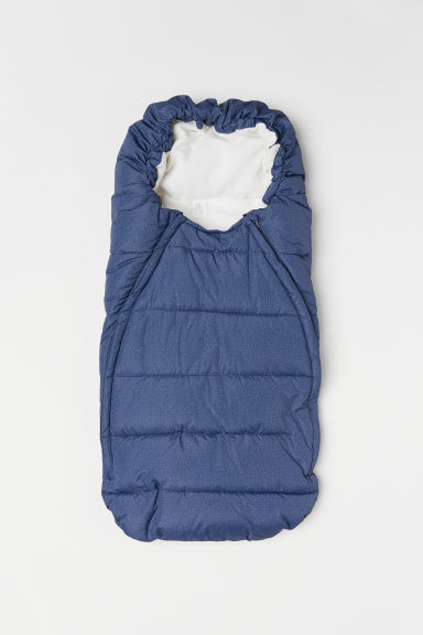 Padded footmuff - Blue marl - Kids | H&M IE