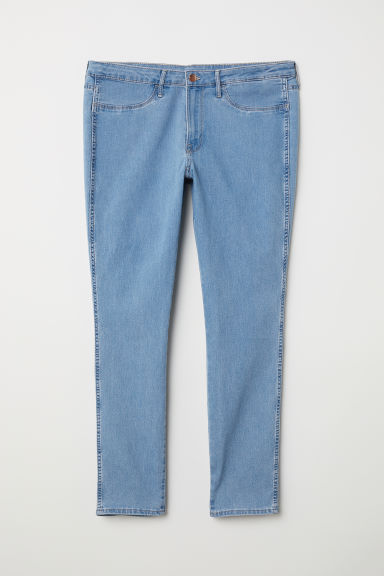 H&M+ Skinny Ankle Jeans - Light denim blue - Ladies | H&M CN