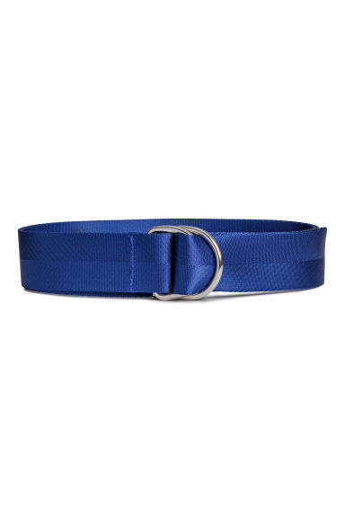 Long nylon belt - Blue -  | H&M