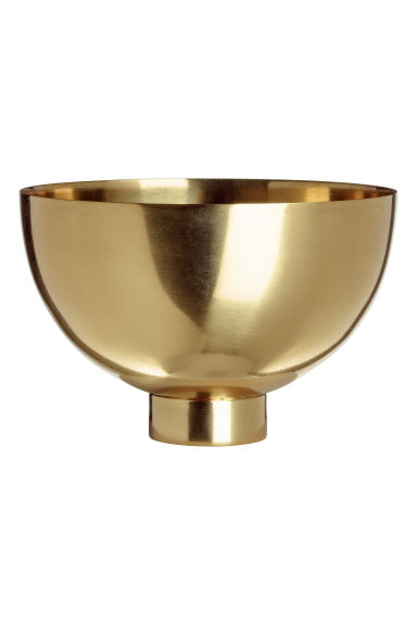 Small metal bowl - Gold-coloured - Home All | H&M IE