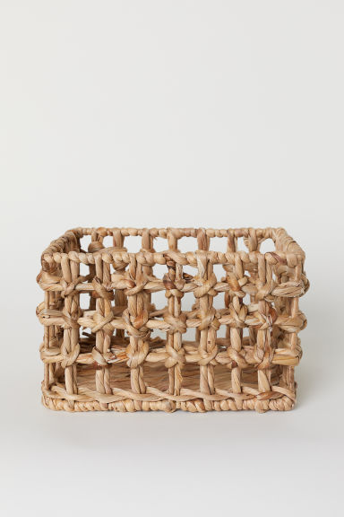 Small Storage Basket - Natural - Home All | H&M US