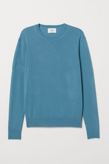 Cashmere jumper - Dark turquoise - Men | H&M