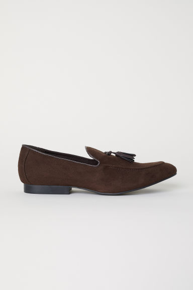 Loafers met kwastjes - Donkerbruin -  | H&M BE