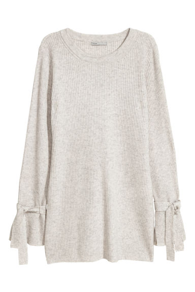 Cashmere jumper - Light grey - Ladies | H&M