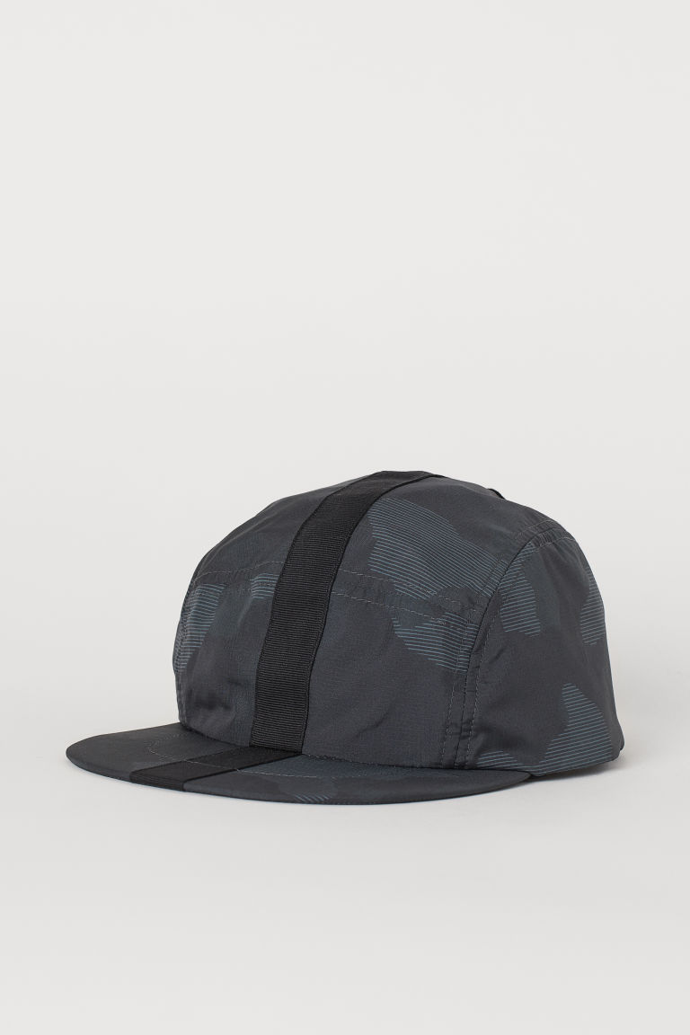 Running cap - Dark grey/Patterned - Men | H&M CN