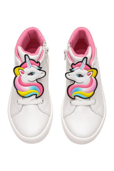 Sneakers alte - Bianco/unicorno -  | H&M IT