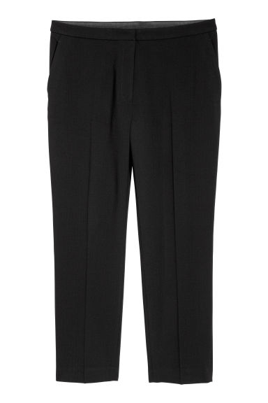 H&M+ Tailored trousers - Black - Ladies | H&M