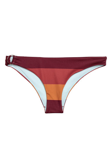 Cheeky bikini bottoms - Rust - Ladies | H&M CN