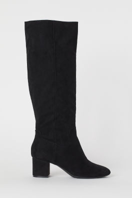 8747aac7d36 Boots For Women | Thigh-High & Knee Boots | H&M US