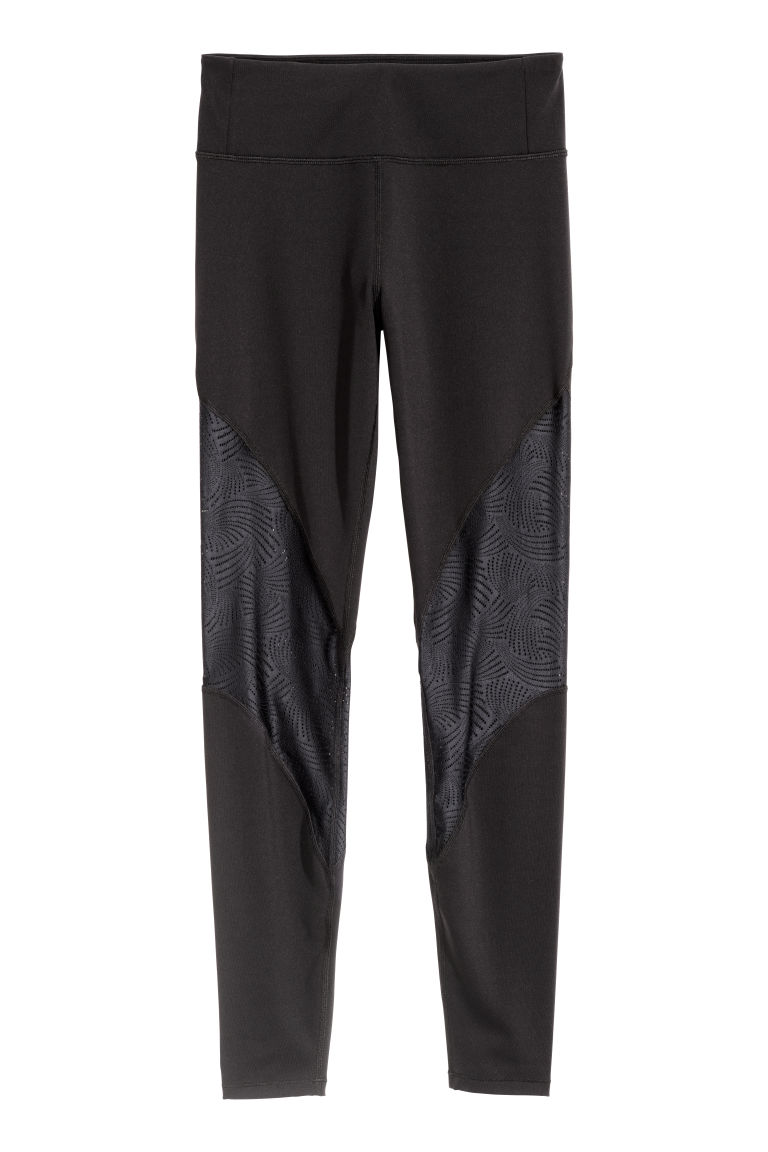 Sports tights - Black - Ladies | H&M CN