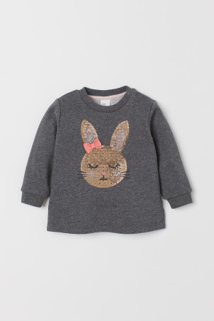 Sweat-shirt avec broderies