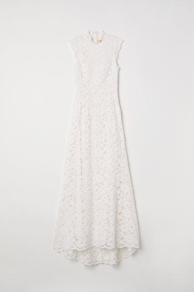 Long Lace Dress - Cream - Ladies | H&M US
