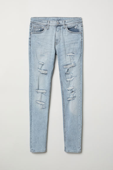 Super Skinny Jeans - Light denim blue - Men | H&M