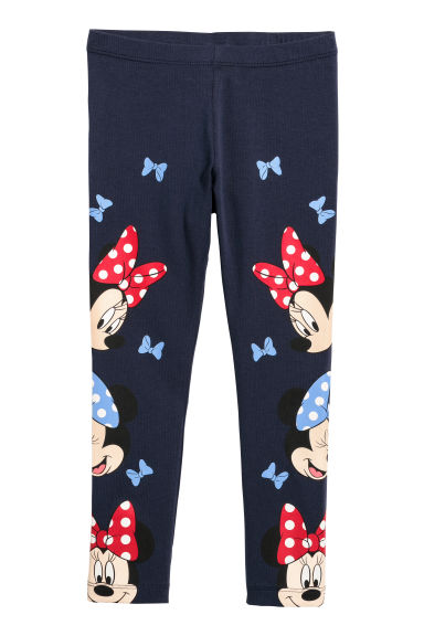 Leggings - Azul oscuro/Minnie Mouse -  | H&M ES