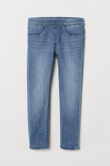 Leggings in denim - Blu denim chiaro -  | H&M IT