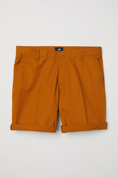 Chino shorts - Ochre - Men | H&M