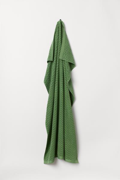 H&M - Jacquard-weave bath sheet - 1