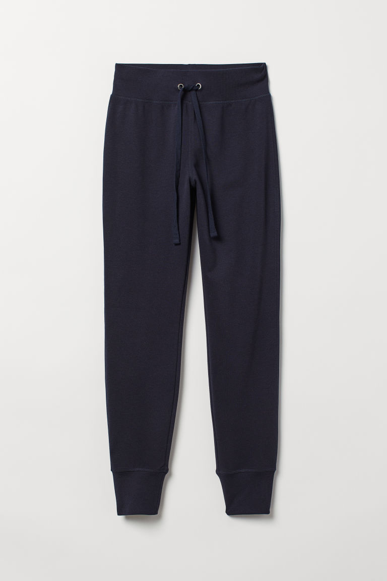 Joggers - Dark blue - Ladies | H&M CN