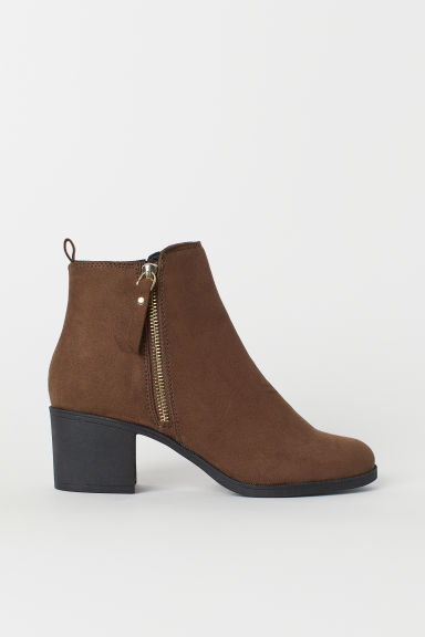 Ankle Boots - Brown - Ladies | H&M US