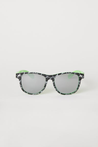 Mirrored sunglasses - Green/Jurassic World - Kids | H&M CN