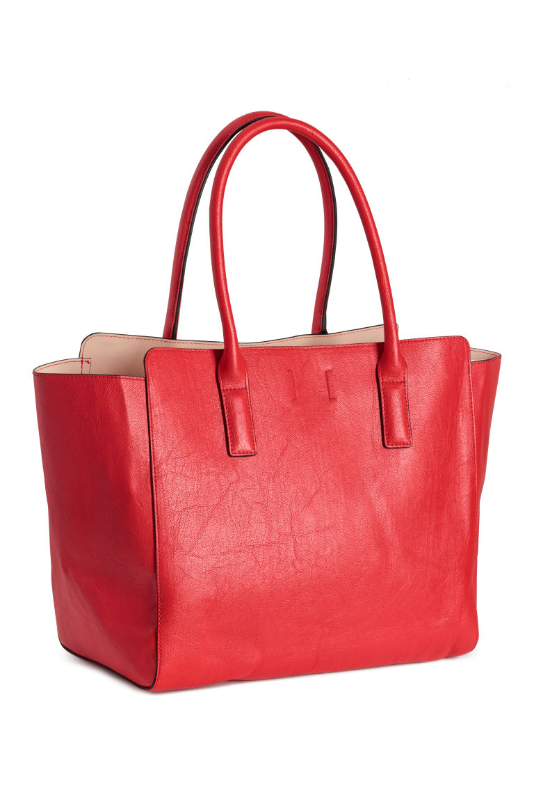 Shopper - Red - Ladies | H&M CN