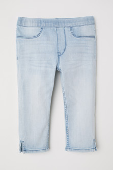 Denim caprilegging