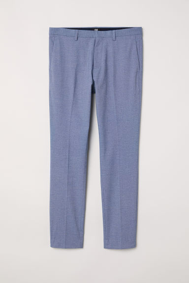 Suit trousers Super skinny fit - Light blue - Men | H&M CN
