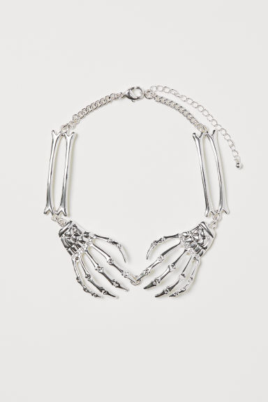 Necklace - Silver-coloured -  | H&M