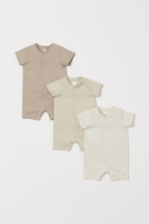 3-pack Jersey Jumpsuits
