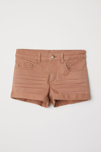 Shorts in twill - Beige - BAMBINO | H&M IT