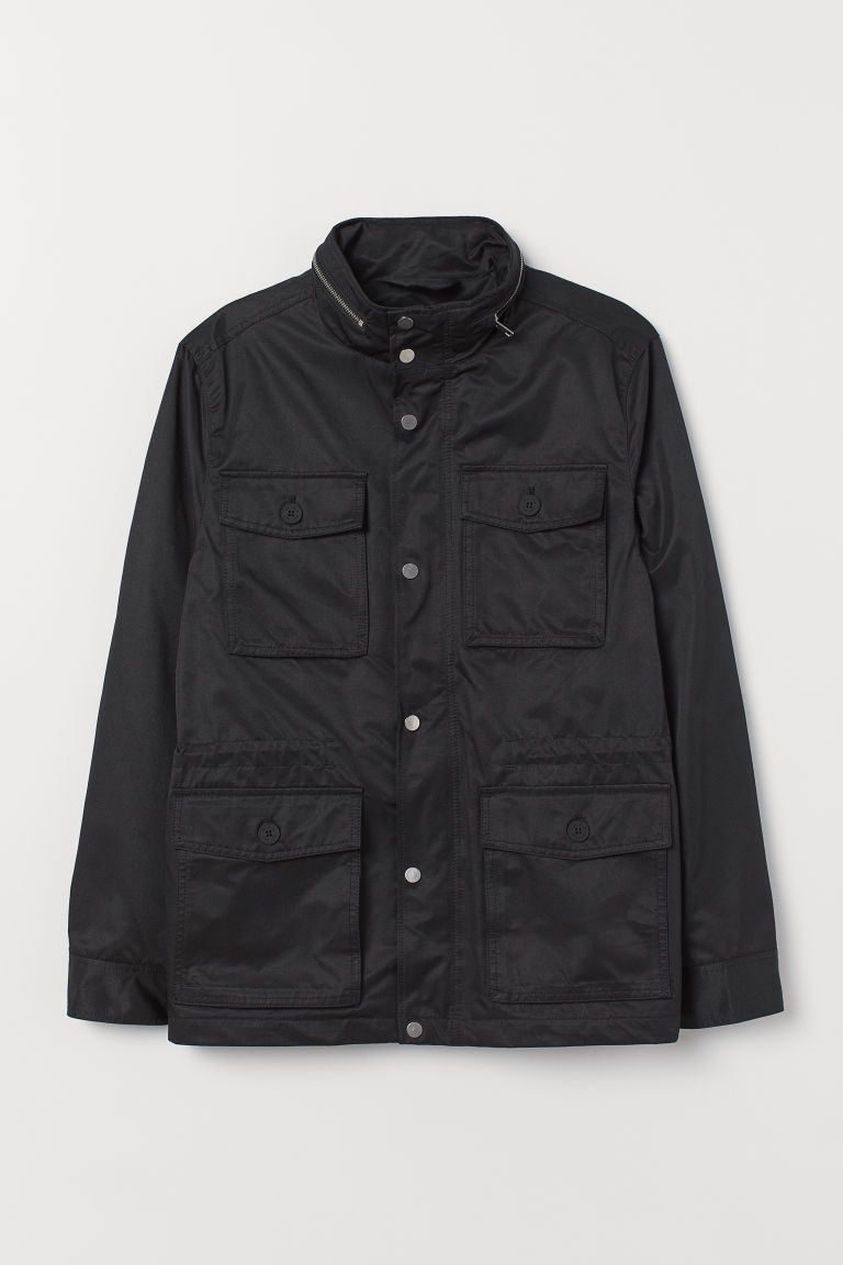 Utility-Jacke - Schwarz - Men | H&M AT