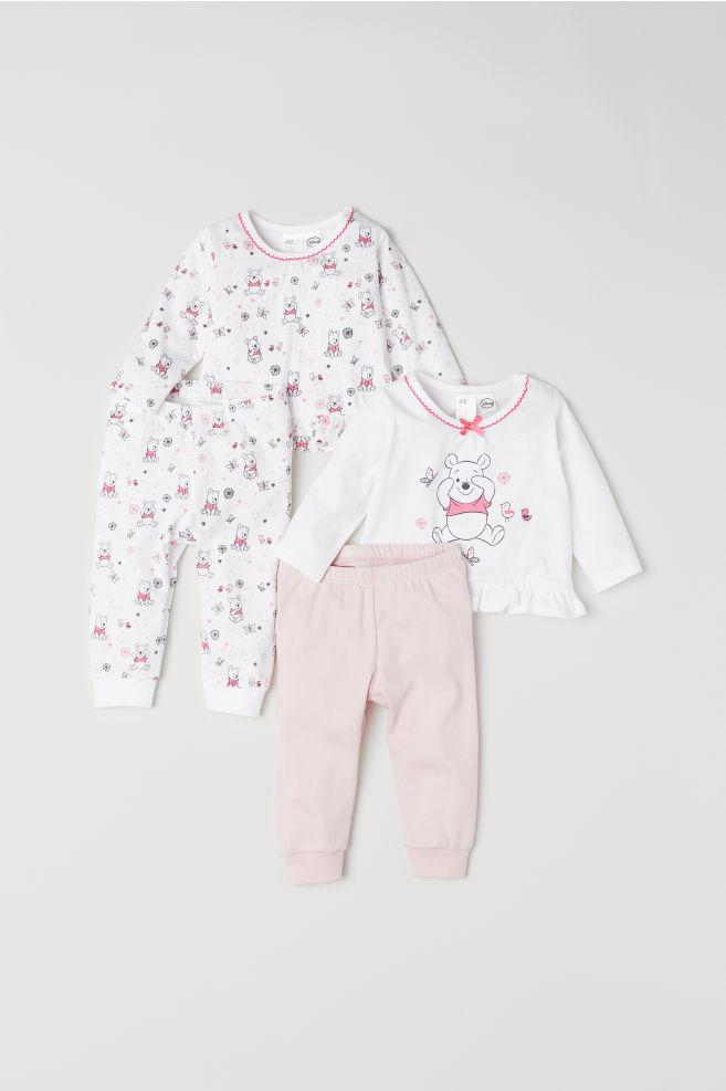 5b970546713c 2-pack pyjamas - Light pink Winnie the Pooh - Kids