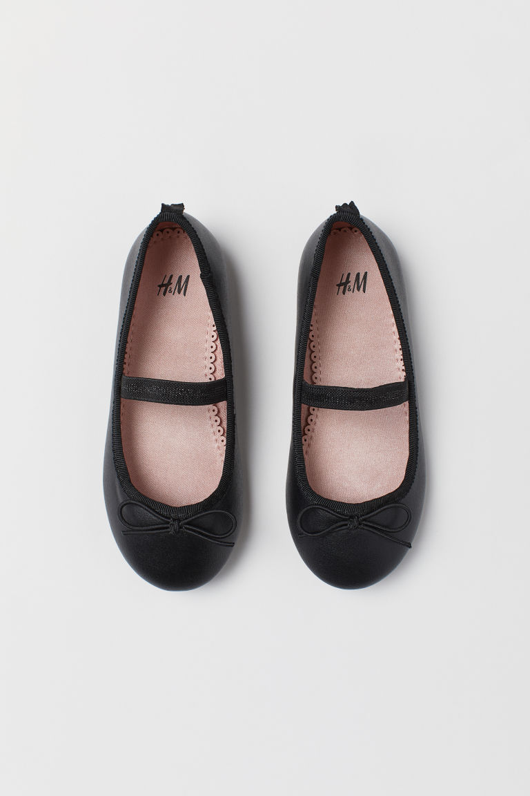 Ballet Flats - Black - Kids | H&M US