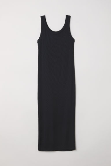 Bodycon dress - Black -  | H&M CN